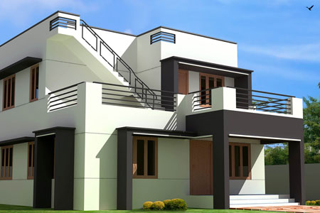 Modern and trending house